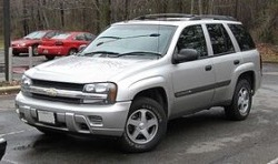 Авточасти за CHEVROLET TRAILBLAZER (KC_) от 2001 до 2009