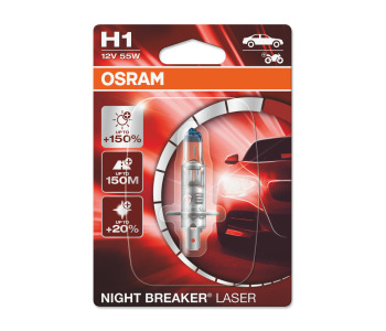 Крушка H1 12V 55W Night Breaker Laser Osram
