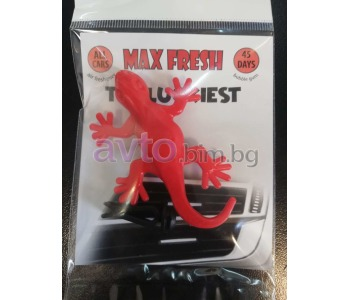 Ароматизатор MAX FRESH Bubble gum гущер 1бр.