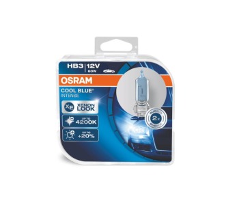 Крушки OSRAM HB3 12V 60W COOL BLUE INTENSE Xenon Look