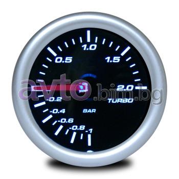 ca655b132d8 Измервателен уред за налягането в турбината - Буустметър с опушено стъкло