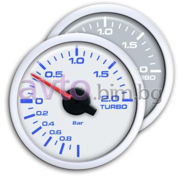 d9ac4bf33a3 Измервателен уред за налягането в турбината с два цвята на дисплея-  Буустметър