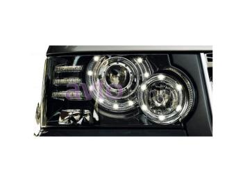 Фар десен електрически BI-XENON TURNING LIGHT VALEO за LAND ROVER RANGE ROVER (L322) от 2009 до 2012
