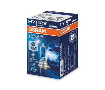 Крушка OSRAM H7 12V 55W PX26d COOL BLUE INTENSE - 1 брой