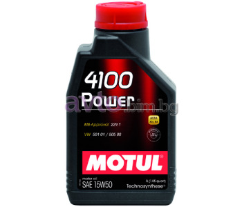 MOTUL 4100 POWER 15W50 1Л
