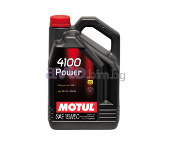 MOTUL 4100 POWER 15W50 5Л