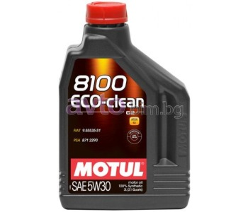 MOTUL 8100 ECO-CLEAN 5W30 2Л