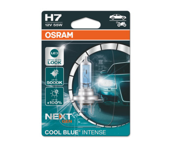 Крушка H4 12V 60/55W P43t Osram Cool Blue Intense - 1бр.