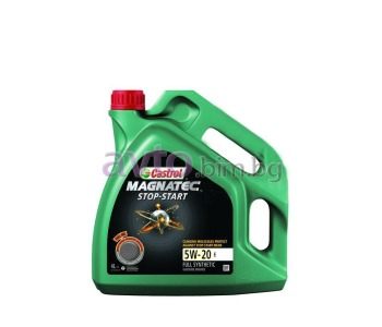 Двигателно масло Castrol Magnatec 5W20 E SS Stop-Start - 4Л