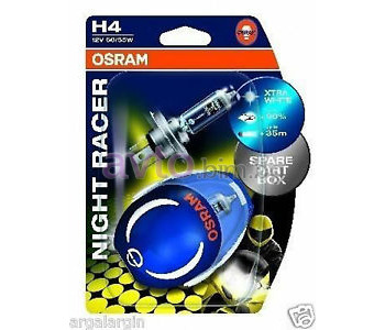 Крушка H4 12V 60/55W P43t Night Racer - Osram 2бр