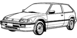 Метални кори под двигател за HONDA CIVIC от 1988 до 1992