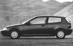 Метални кори под двигател за HONDA CIVIC от 1992 до 1995