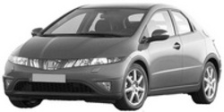 Метални кори под двигател за HONDA CIVIC 5P/5D от 2006 до 2012
