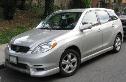 TOYOTA MATRIX от 2003 до 2008