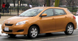TOYOTA MATRIX от 2009
