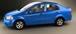 CHEVROLET AVEO (T250, T255) седан от 2005