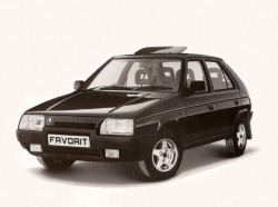 SKODA FAVORIT от 1990 до 1994
