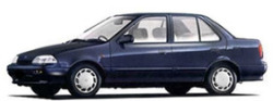 Капаци за SUZUKI SWIFT SEDAN от 1989 до 1995