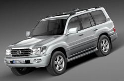 TOYOTA LAND CRUISER J100  от 1998 до 2002